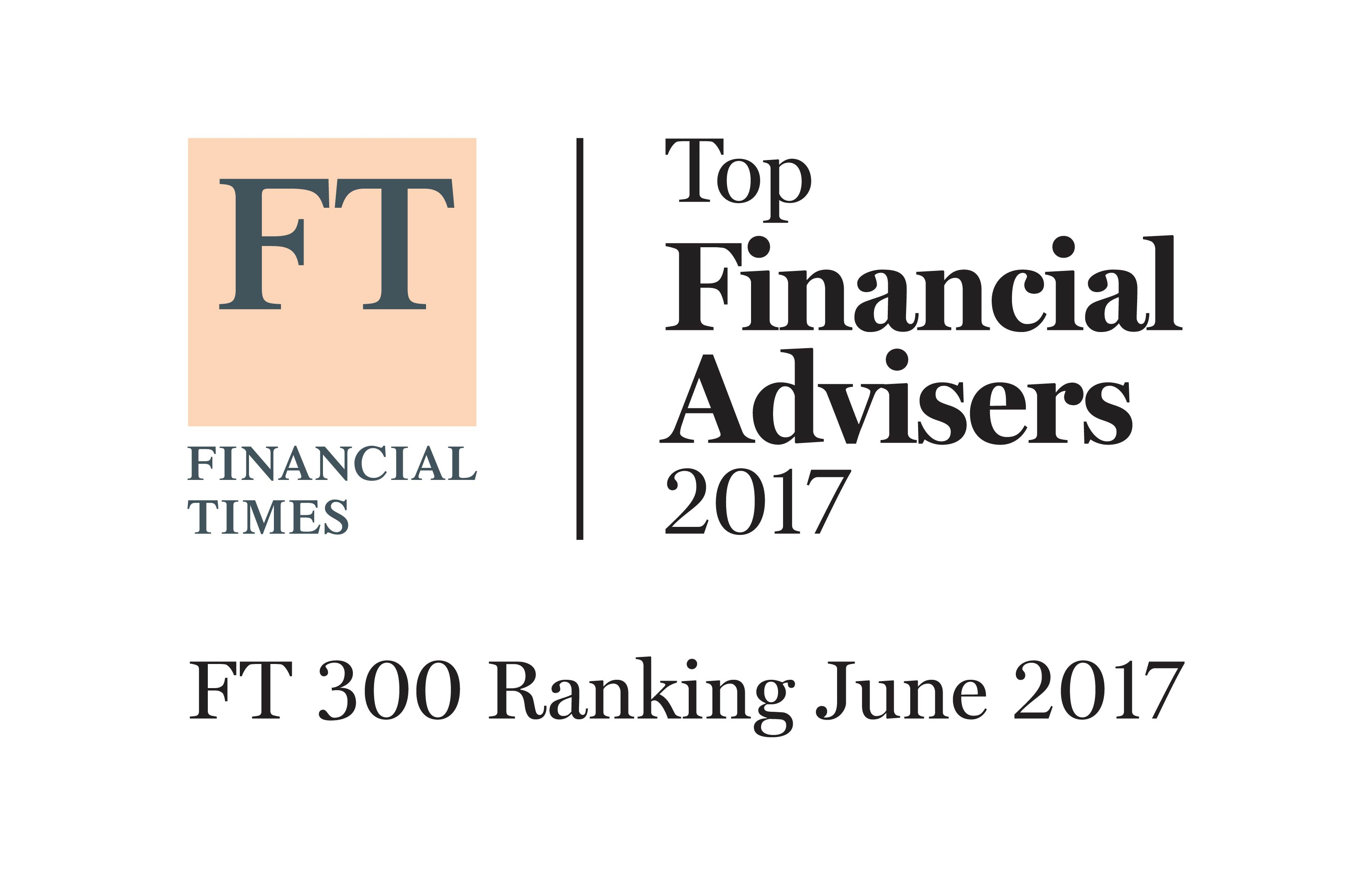 Bridges named top 300 Financial Advisers by Financial Times.